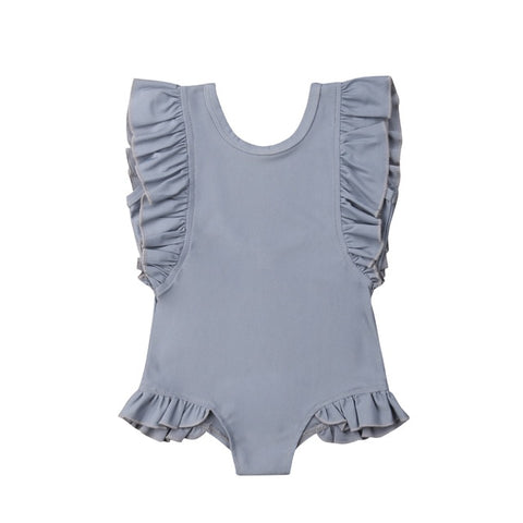 Oakley Frill Swimsuit - Grey