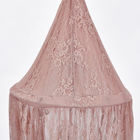 Harmony Lace Canopy - Pink