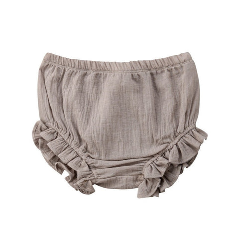 Ruffle Bloomers - Grey