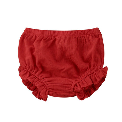 Ruffle Bloomers - Wine