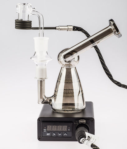 Enail PID controller with salt shaker dab rig