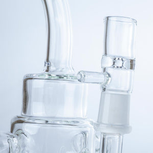 "9"" Heady Recycler Wax Rig 