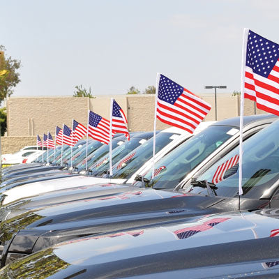 U.S. Cloth Antenna Flags