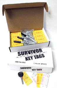 Survivor Key Tags
