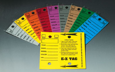 Self Laminating Key Tags