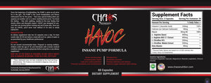 HAVOC - NITRIC OXIDE PUMP AMPLIFIER