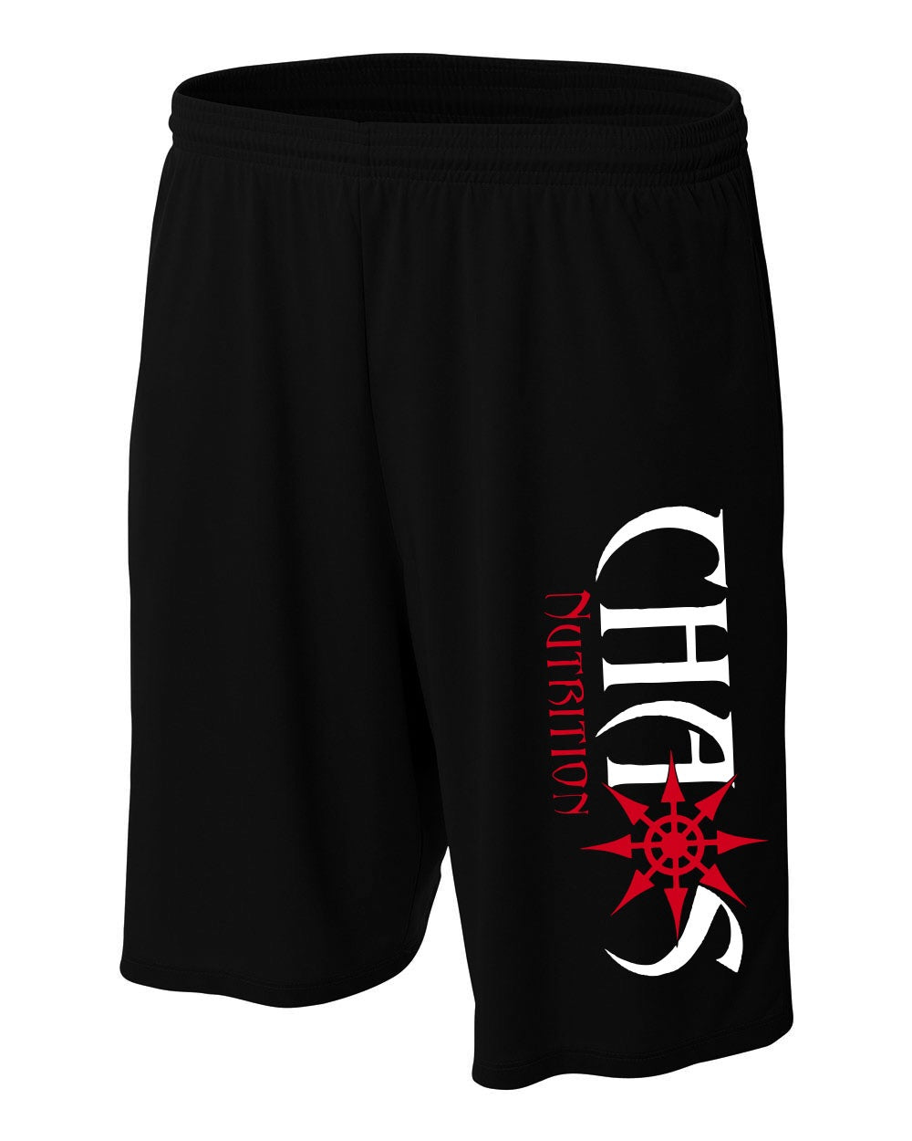 CHAOS NUTRITION - SHORTS - BLACK #70
