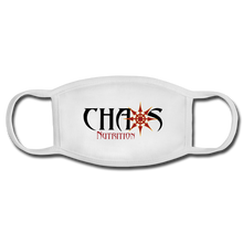 Chaos Nutrition Face Mask (Reusable) - white/white