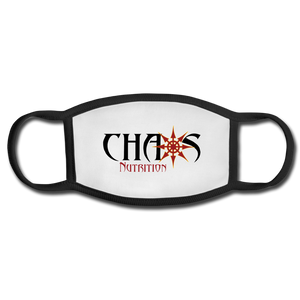Chaos Nutrition Face Mask (Reusable) - white/black