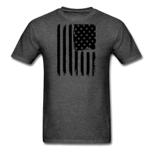 LIMITED EDITION CELEBRATE AMERICA  T-SHIRT - heather black