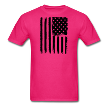 LIMITED EDITION CELEBRATE AMERICA  T-SHIRT - fuchsia