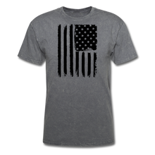 LIMITED EDITION CELEBRATE AMERICA  T-SHIRT - mineral charcoal gray