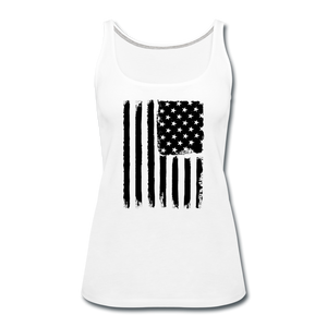 LIMITED EDITION CELEBRATE AMERICA TANK TOP - white