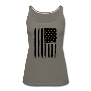 LIMITED EDITION CELEBRATE AMERICA TANK TOP - asphalt gray