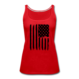 LIMITED EDITION CELEBRATE AMERICA TANK TOP - red