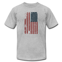 USA Flag Color - heather gray
