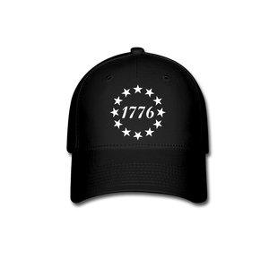 1776 Stars FlexFit Cap - black