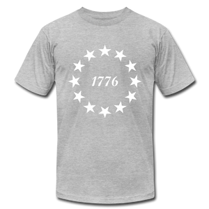 1776 Stars - heather gray