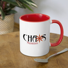 Some Call It Chaos Mug - white/red