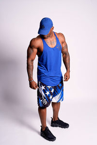 Blue Star Performance Shorts