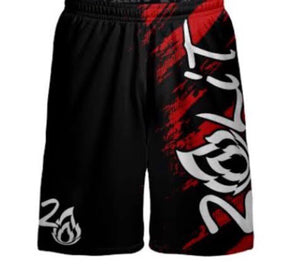 Red Fury PERFORMANCE SHORTS