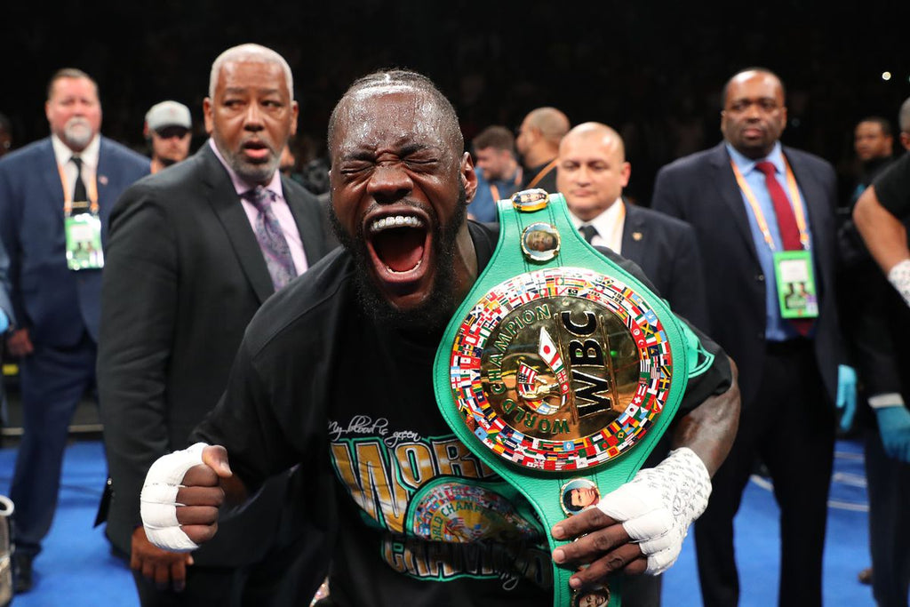 Deontay Wilder Bombs Dominic Breazeale in Round 1 Knockout!
