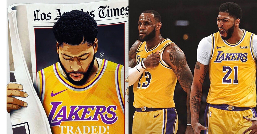 Anthony Davis Traded To Los Angeles Lakers with LeBron James!