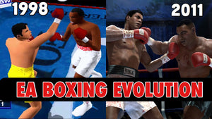Evolution of Knockout Kings/Fight Night (1998-2011)