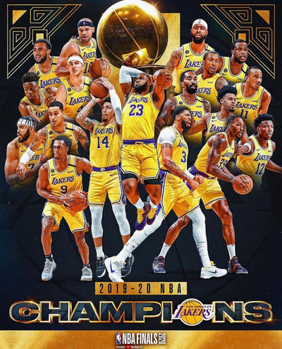 LOS ANGELES LAKERS 2020 NBA CHAMPIONS!