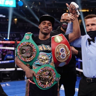 Errol Spence Jr Dominates Danny Garcia In Comeback Fight After Car Accident!