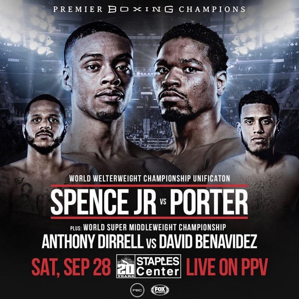 Errol Spence Jr vs Shawn Porter Fight Week! September 28 in Los Angeles
