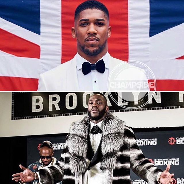 Anthony Joshua-Deontay Wilder Heavyweight Championship Brings Boxing To Mainstream