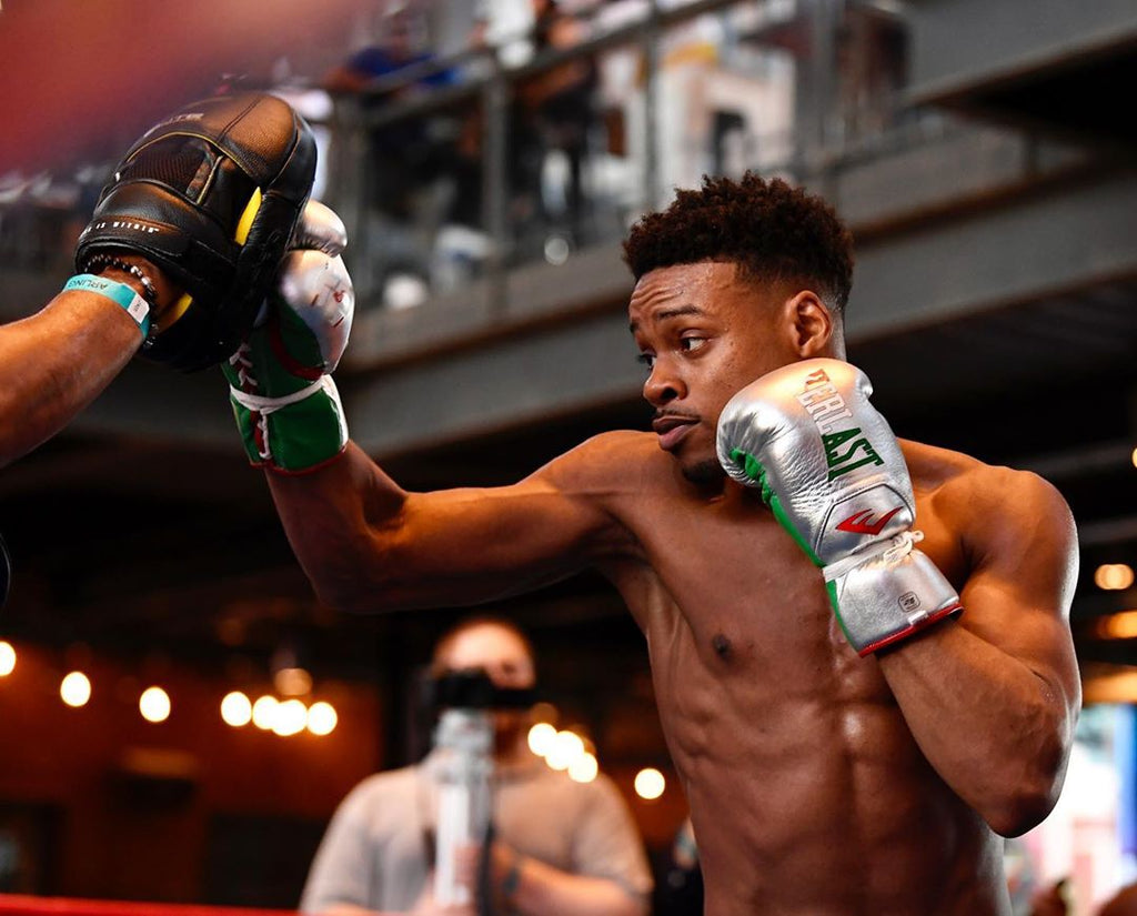 Errol Spence Jr Interview & Workout (Sept 28 in LA)