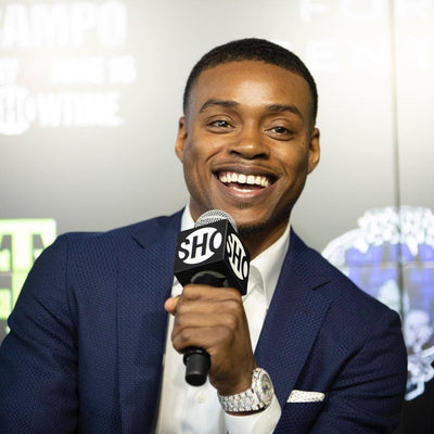 Errol Spence Jr Makes CHAMPSIDE Debut (Full Interview)