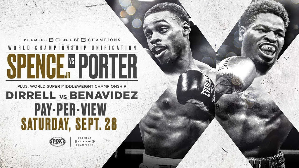 Giveaway: Errol Spence Jr vs Shawn Porter Ticket Giveaway