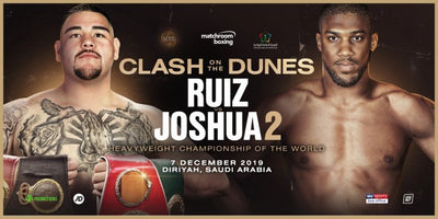 Andy Ruiz vs. Anthony Joshua December 7 in Saudi Arabia
