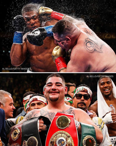 Andy Ruiz KOs Anthony Joshua in 7! First Mexican Heavyweight Champ!