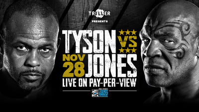 Mike Tyson vs Roy Jones Jr LIVE on PAY PER VIEW