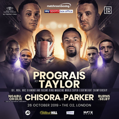 Regis Prograis vs Josh Taylor 140 World Boxing Super Series Final, Oct 26 in London on DAZN!