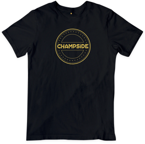 CHAMPSIDE: The Baddest Brand In The Land Logo Shirt