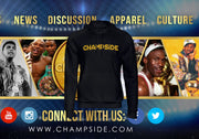 CHAMPSIDE: The Baddest Brand In The Land Text Hoody