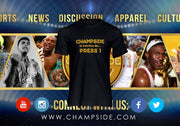 "CHAMPSIDE: Official ""PRESS 1"" T-Shirt"