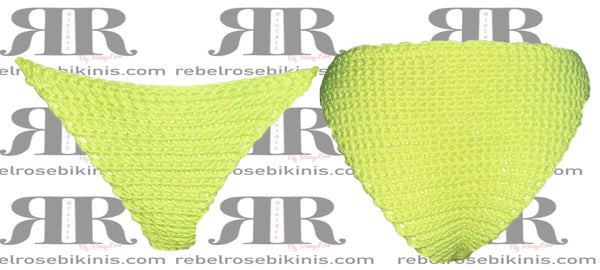 Neon Yellow Basic Cheeky