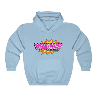 Boomquisha Unisex Hooded Sweatshirt with Front Pocket