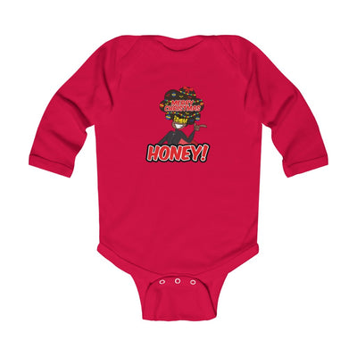 Boomquisha Christmas Infant Long Sleeve Bodysuit