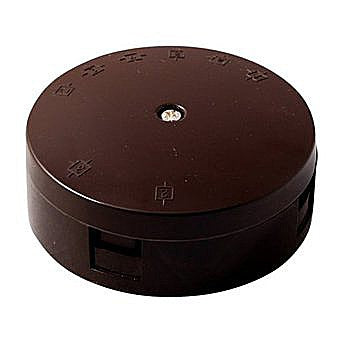 30 Amp 3 Terminal Heavy Duty Box Brown