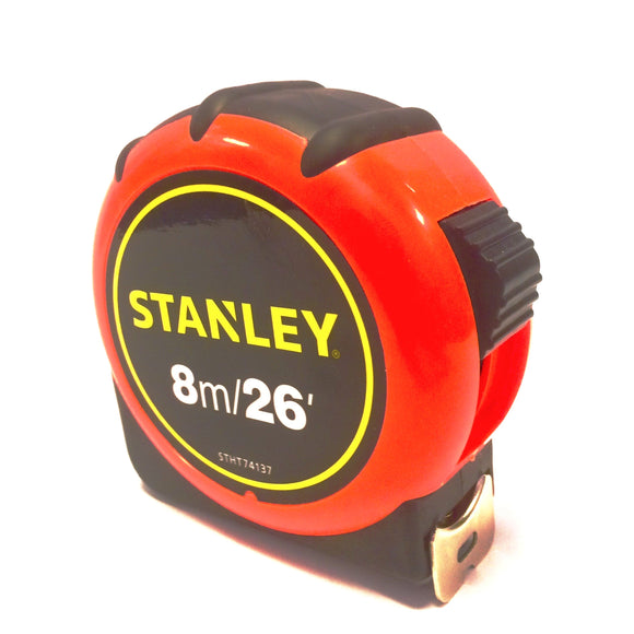 Stanley high visibility tape measure 8 metre