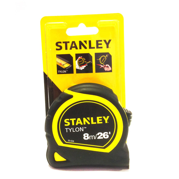 Stanley tylon tape measure 8 metres 30-656