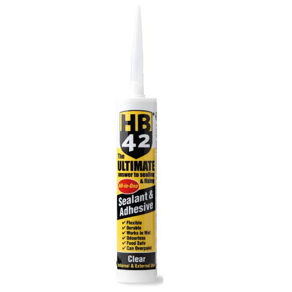 HB42 sealant and adhesive horley surrey clear