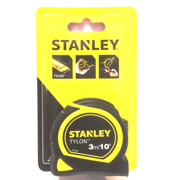 Stanley tylon tape measure 3 metres 30-686